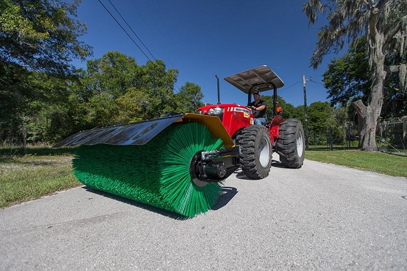 Tractor Front Mount Sweeper SCM 110
