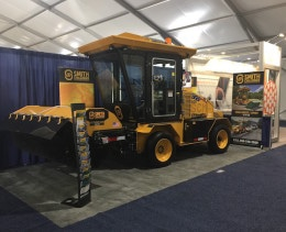 SCM 400 Self-Propelled Sweeper at ConExpo