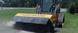 SCM 257 Dozer Broom